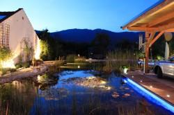 Außenbeleuchtung in der Gartengestaltung